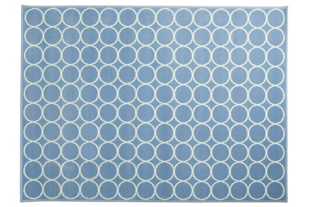 Lorena Canals alfombra-aros-azul 120x160cm
