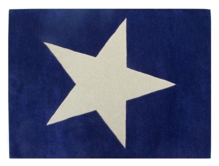 Lorena Canals alfombra estrella marino 140x200cm