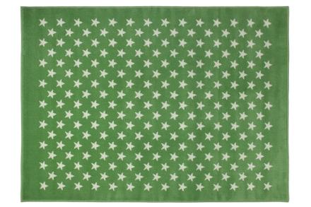 Lorena Canals alfombra estrellitas-verde 120x160cm. 140x200cm. 220x300cm