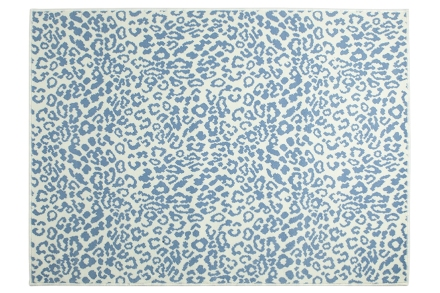 Lorena Canals alfombra-leopardo-azul 140x200cm