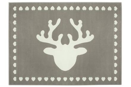 Lorena Canals alfombra-reno gris 140x200cm