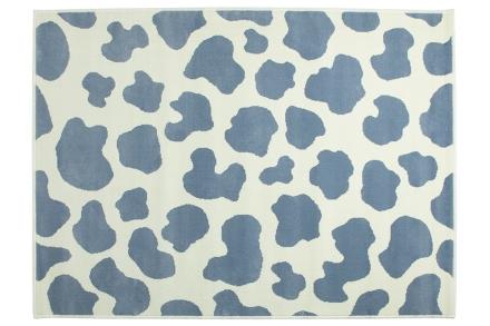 Lorena Canals alfombra-vaca-azul 140x200cm