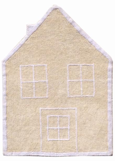 Lorena Canals alfombra Washable Casita crema-House beige 120x160cm