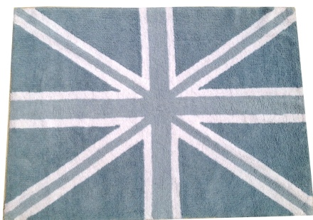 Lorena Canals alfombra Washable Flag England baby azul_blue 140x200cm