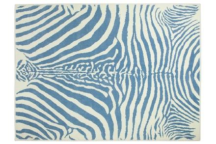 Lorena Canals alfombra-zebra-azul 140x200cm