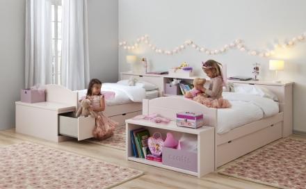 Lorena Canals wool florecitas pink